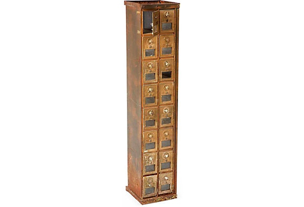 Antique Post Office Mailboxes