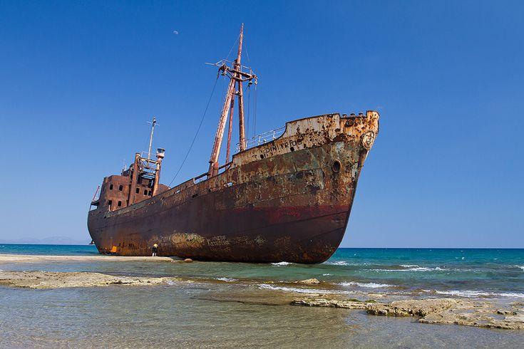 Gytheion shipwreck, Peloponnese, Greece