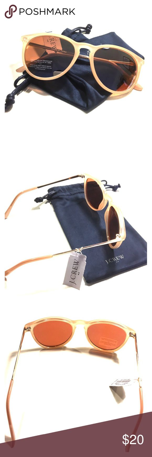 J. Crew rose gold sunglasses NWT J. Crew Factory women's sunglasses in EXCELLENT, never been used condition! Pretty rose gold color.  No issues. Perfect for the Spring and Summer! 😎🍹🏝 J. Crew Accessories Sunglasses