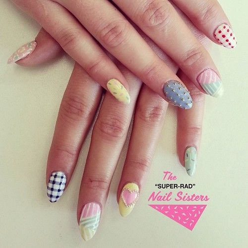 SWEET #candy #nails #pastel