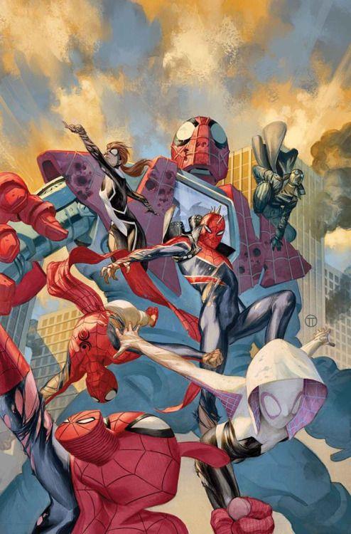 Spider-Verse - Julian Totino Tedesco