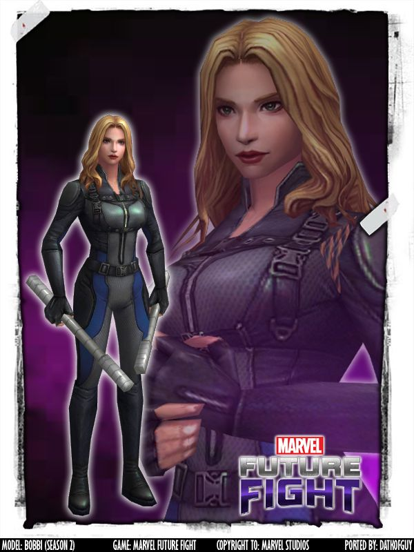 MARVEL Future Fight - Bobbi Morse (Season 2) by DatKofGuy
