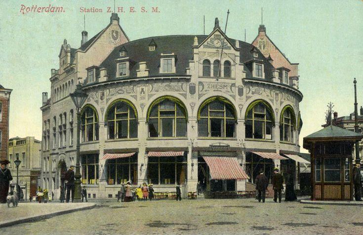 Het legendarische station Rotterdam Hofplein.