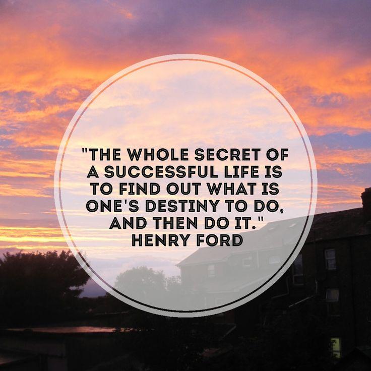 essay on the secret of destiny