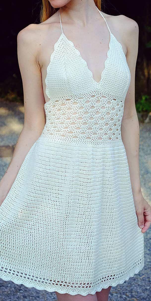 30+ Best Free Crochet Dresses Crochet Patterns 2019 – Page 3 of 33