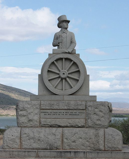 Statue of Andries Pretorius, Leader of the Great Trek by Kleinz1, via Flickr - This Day in History: Jul 19, 1786: The town Graaf-Reinet is founded in South Africa