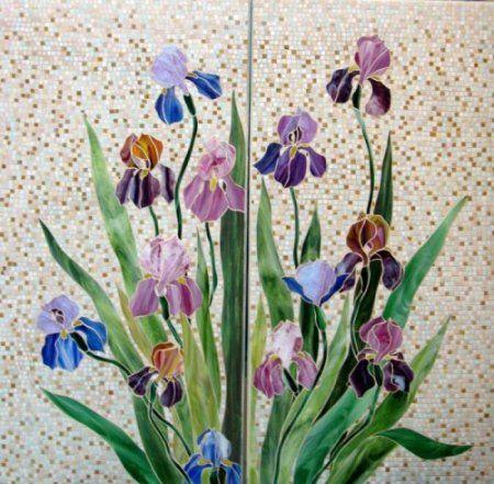 Floral mosaic  #mosaic #art #decoration