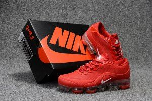 32996c1fe26df Nike Air VaporMax Flyknit 2018. 5 Kpu Solar Red White Men s Running Shoes