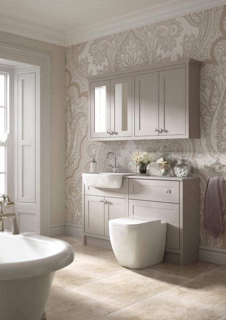 traditional bathroom CGI room set