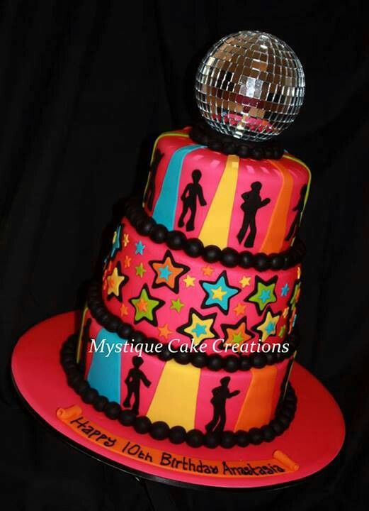 Best 25 Disco Cake Ideas On Pinterest Theme