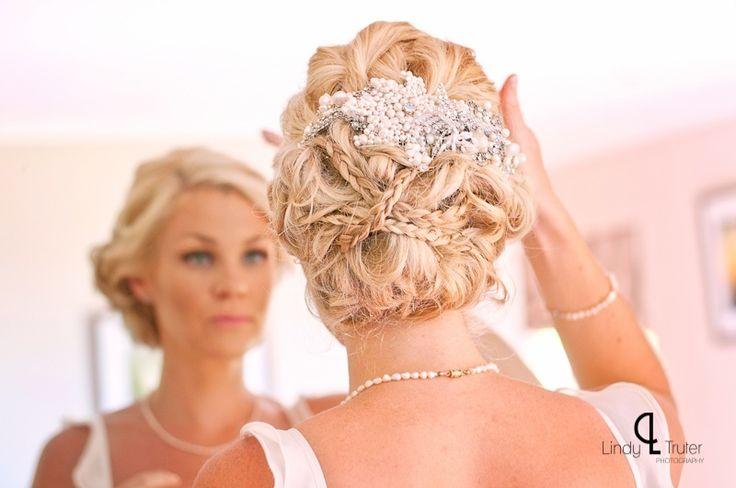 Bridal Hair by: Cecilia Fourie - www.ceciliafourie.co.za