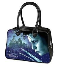 Edward Scissorhands Bowler Hand bag Purse Goth Punk Emo Psychobilly Alternative