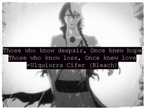 Image via We Heart It #bleach #animequotes