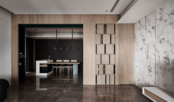 Taiwan Home Follows Feng Shui For Flow And Harmony Apartment