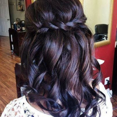 Waterfall braid. Love this! I think this one may be it!!
