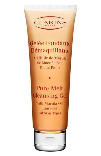 Clarins 'Pure Melt' Cleansing Gel for All Skin Types available at Nordstrom. The pure melt is great for all skin types, helps remove deep impurities and leaves you feeling soft and clean.
