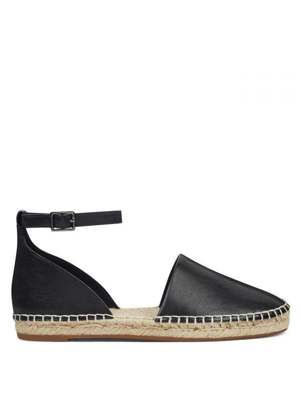 ESPADRILLES Womens Rivet Ankle Strap Studded Sandals Casual Flats Shoes Size US