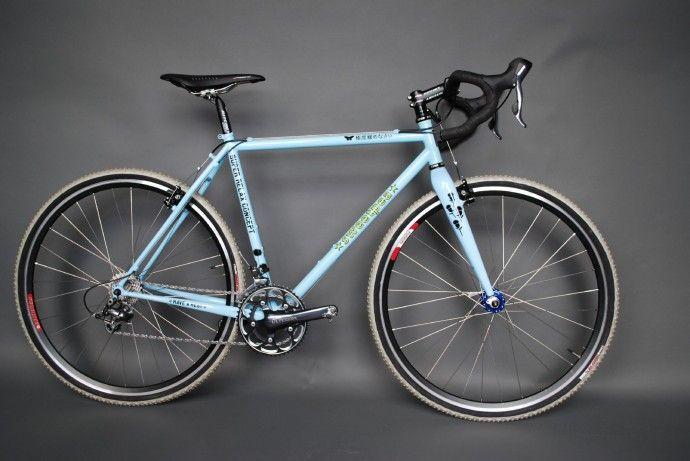 "Sweetpea Bicycles custom ""Love"" line. Love this bike!"