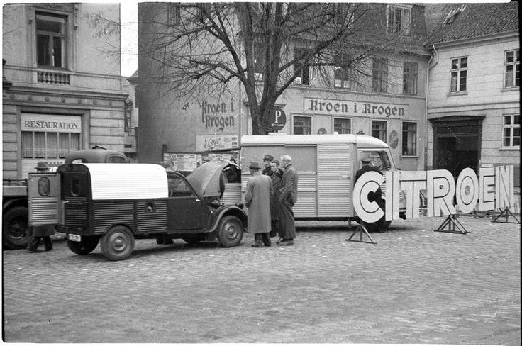 Citroen 2cv og hy i odense 1953 photo citro n for Garage citroen 95 pontoise