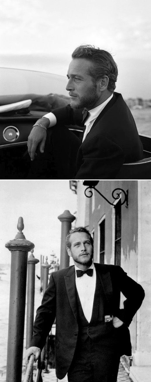 Paul Newman is always an inspiration.  La mode naturelle