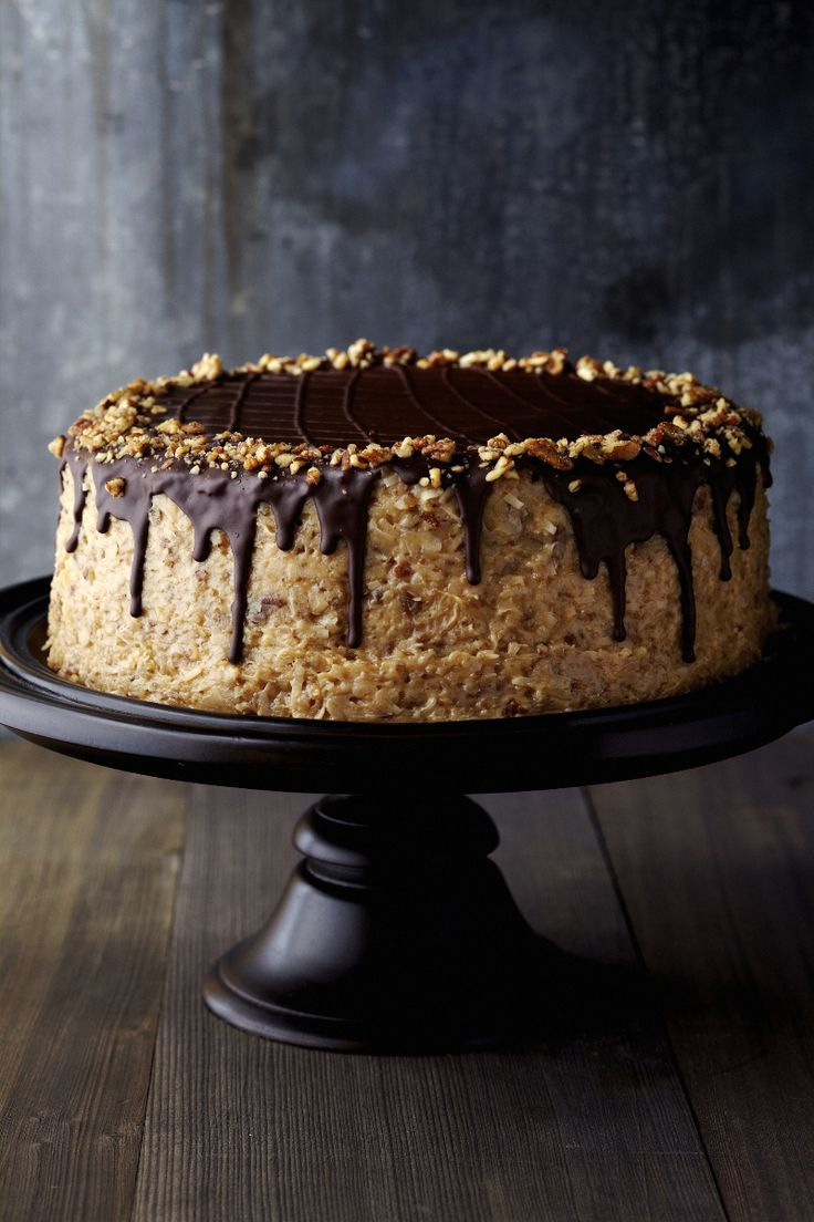 German Chocolate Cake! B CAKES Pinterest German ...