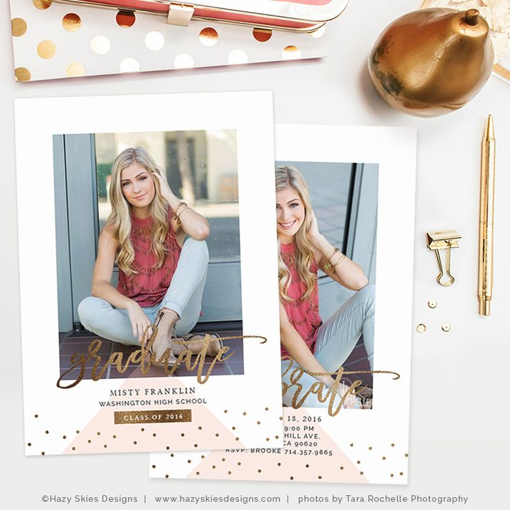 73 best Senior Marketing Templates \ Graduation Announcement - graduation announcement template