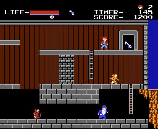 NES The Goonies
