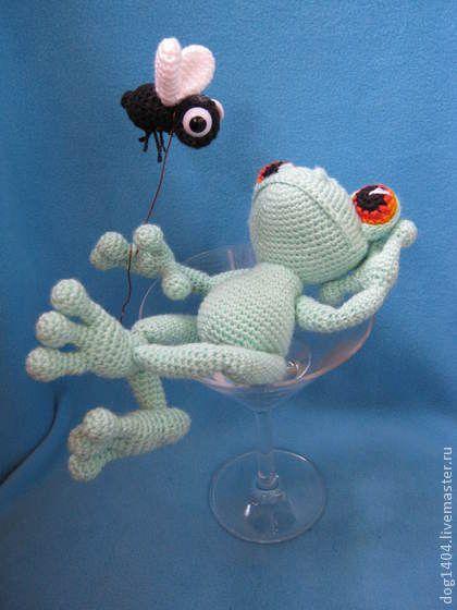"""МК по вязанию игрушки """"Жизнь прекрасна!"""" - авторская игрушка,вязаная игрушка"""