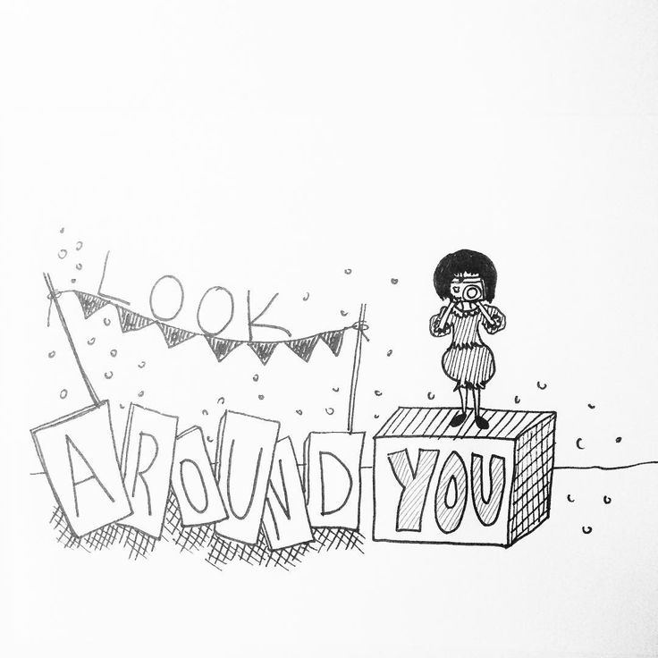 Look around you #illustratorsoninstagram #artstagram #creativityfound