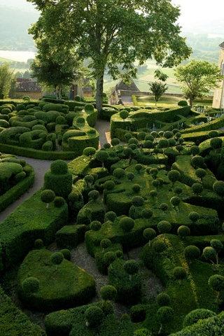 Warts and all... Les Jardins Suspendus de Marqueyssac, Dordogne, France