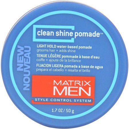 Matrix Clean Shine Light Hold for Men Pomade, 1.7 oz