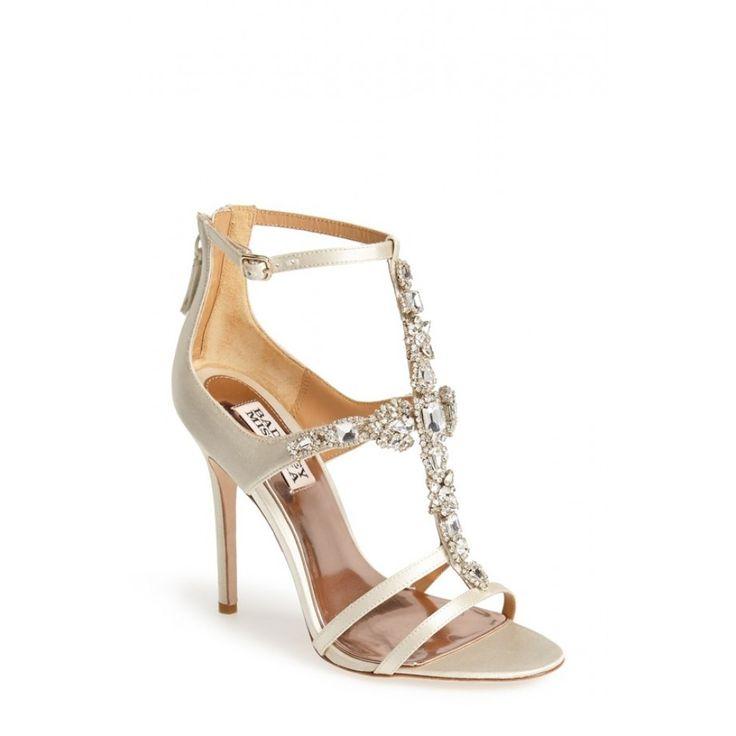 eb9de736b7c 46 best Badgley Mischka Bridal Shoes images on Pinterest