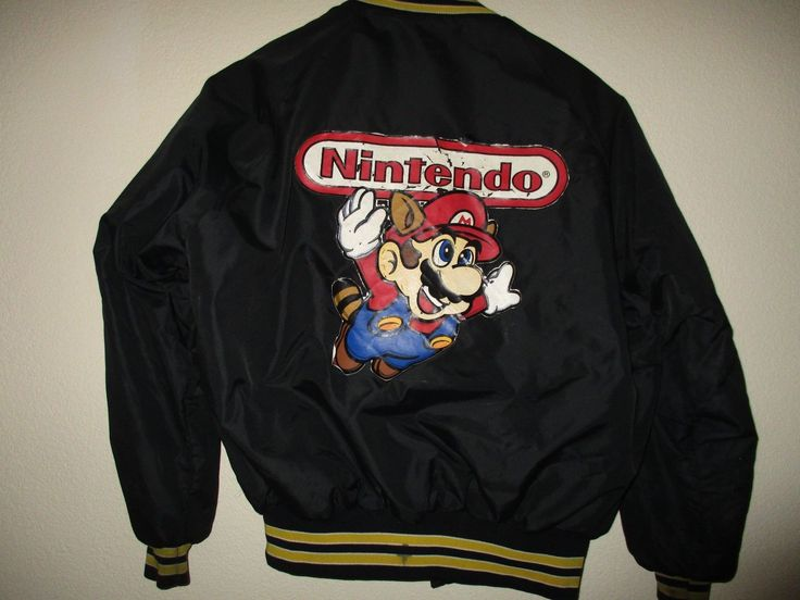 NINTENDO game Counselors Jacket RARE 1993  Super Mario Bros. 3 #nintendo #nes #jacket #varsity #mario #supermario #supermariobros #supermariobros3 #vintage#old #game #videogame #rare #counselor #1993