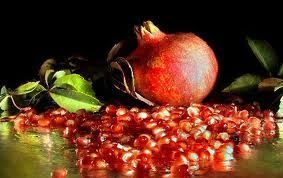 Once the clocks strikes midnight on New Year's Eve, in many parts of #Greece, the custom of breaking a pomegranate at the front door lives on. It is believed that the pomegranate will bring health, happiness and money for the New Year.