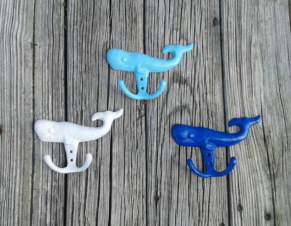 Check out this item in my Etsy shop https://www.etsy.com/listing/240516214/back-to-school-sale-whale-wall-hooks