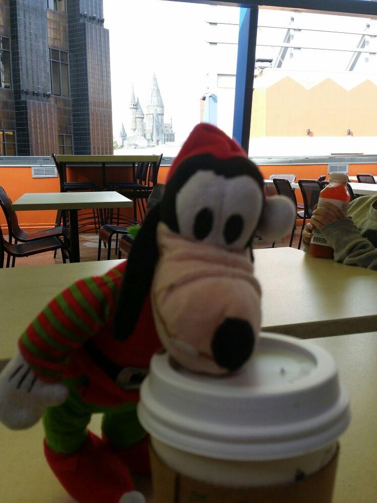 Coffee before magic