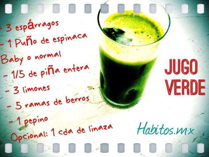 Jugo Verde HABITOS.MX