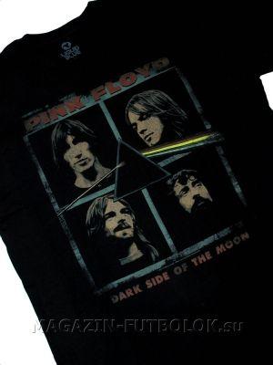 Снова в продаже долгожданная футболка pink floyd dark side faces