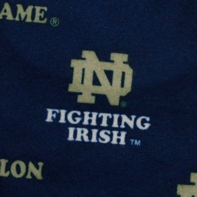 I Can T Find The Notre Dame Logo In Fabric By The Yard I