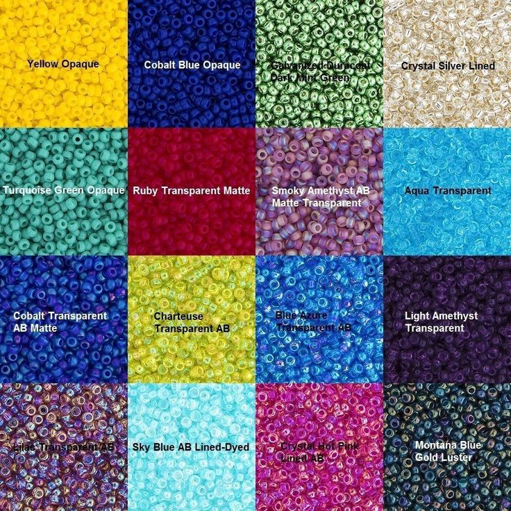 Miyuki Seed Beads - Size 11/0 - 1mm Hole - 22g Vials - Various Colors and Styles