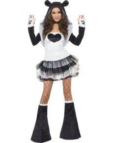 Disfraz de panda Fever para mujer