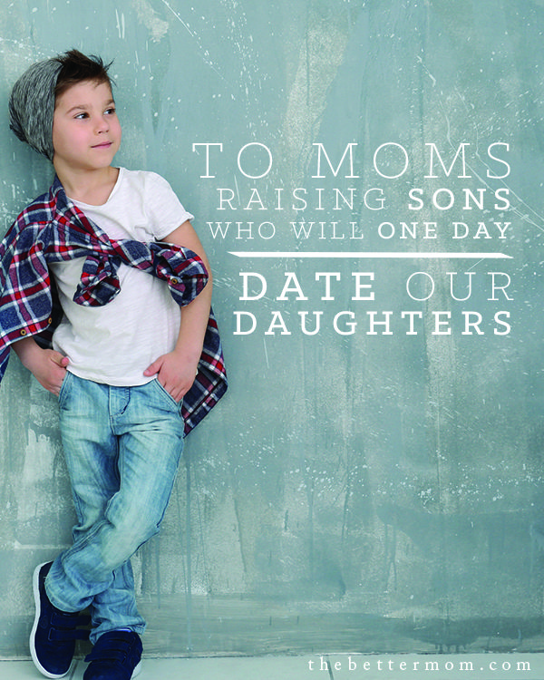 How can we raise our boys to be men who respect, honor and love women? It starts right now! We're all in this together, let's raise the next generation to see one another as Christ does.