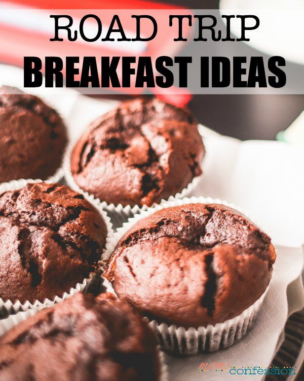 Road Trip Breakfast Ideas - It's best to keep your families stomachs as happy as possible when you travel over summer. Try these road trip breakfast ideas and you should be good to go!