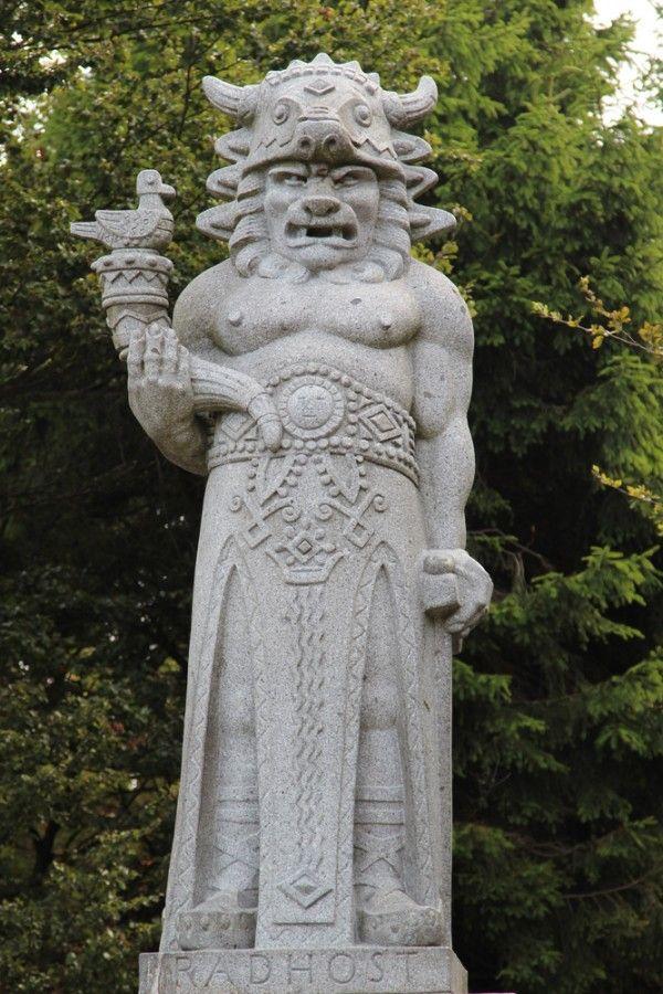 Asi nejznámější slovanský bůh u nás - Radegast