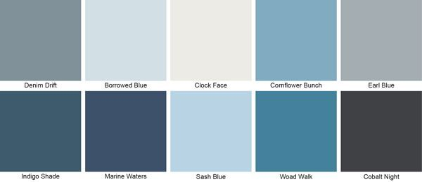 Denim Drift Coordinating Palette