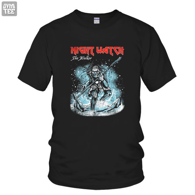 Fair price 2017 new short sleeve t-shirts white walker funny tee 100% cotton Song of ice and fire game of thrones top night watch just only $14.99 with free shipping worldwide  #tshirtsformen Plese click on picture to see our special price for you
