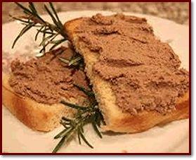 Ricette  >  Abruzzo  >  Antipasti: Bruschetta alla salsiccia di fegato