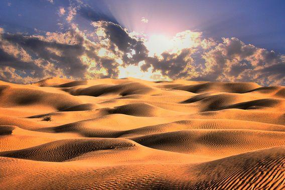 Zonsondergang in de woestijn A. van Eijk Fotografie www.pixel2picture.nl