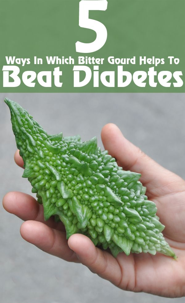 5 Ways In Which Bitter Gourd Helps To Beat Diabetes