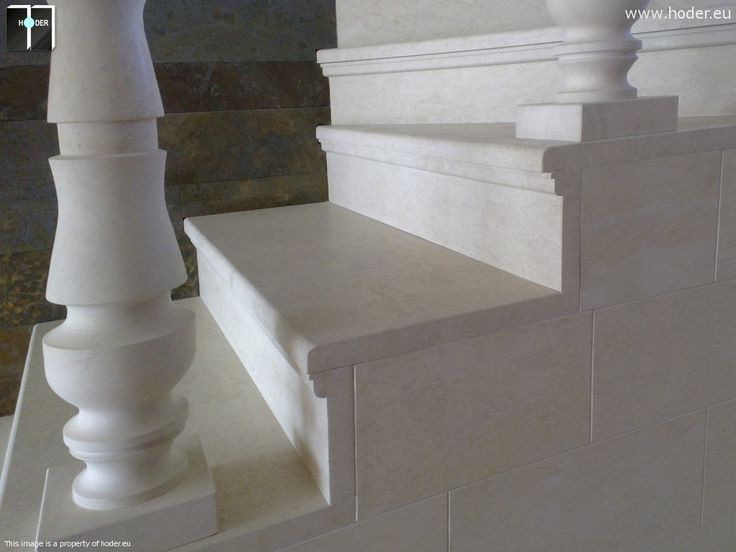 realizacja schody marmurowe Hoder deatl #kamień #schody #granit #marmur #wnętrza #interior #design #office #hallway #marble #granite #white #classic